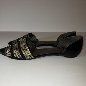 Vintage by JEFFREY CAMPBELL Babylon Gold Weave 9